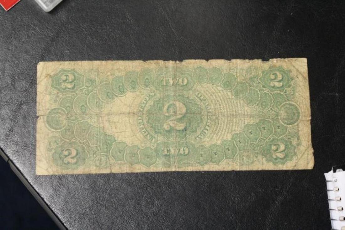 a Large Note $2.00 - Horse Blanket - 1917 - 2