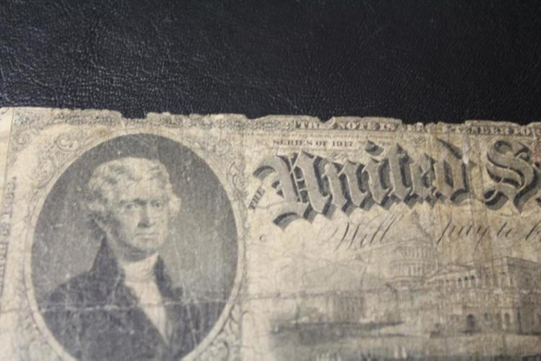 a Large Note $2.00 - Horse Blanket - 1917 - 7