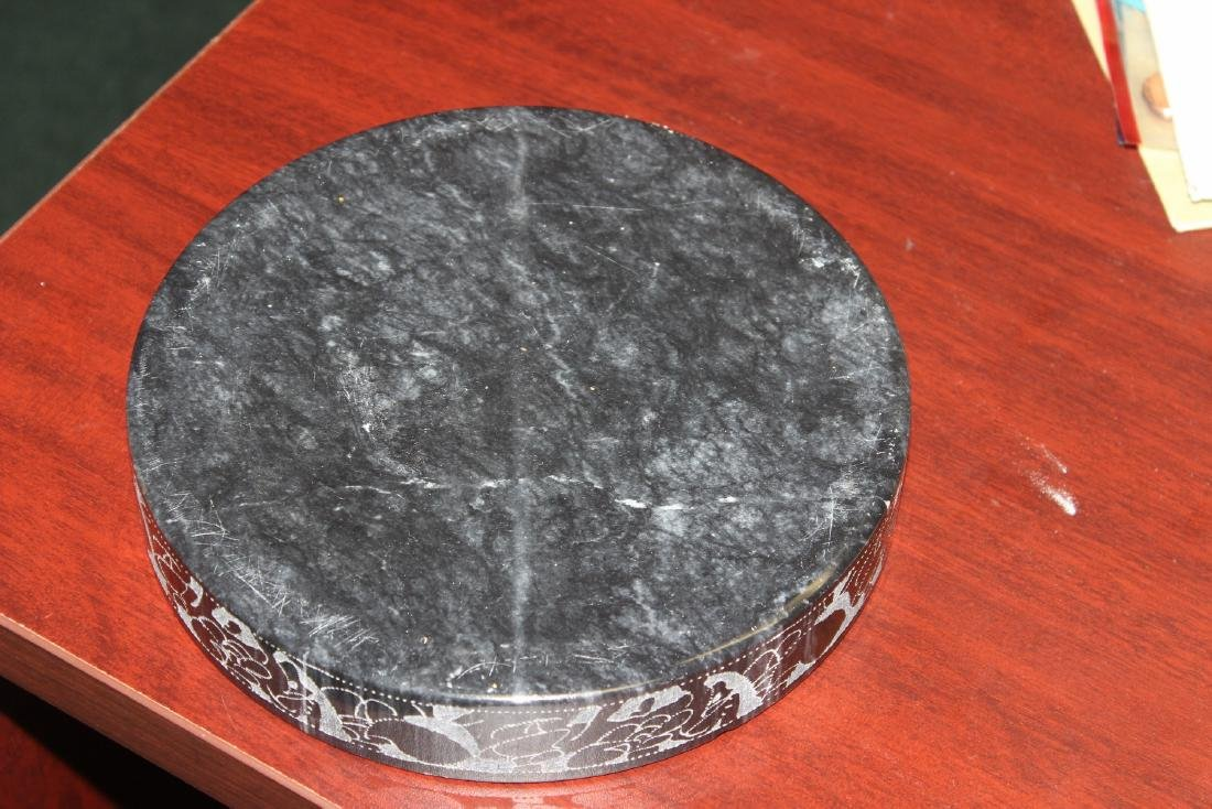 An Etched Marble Ashtray - 5