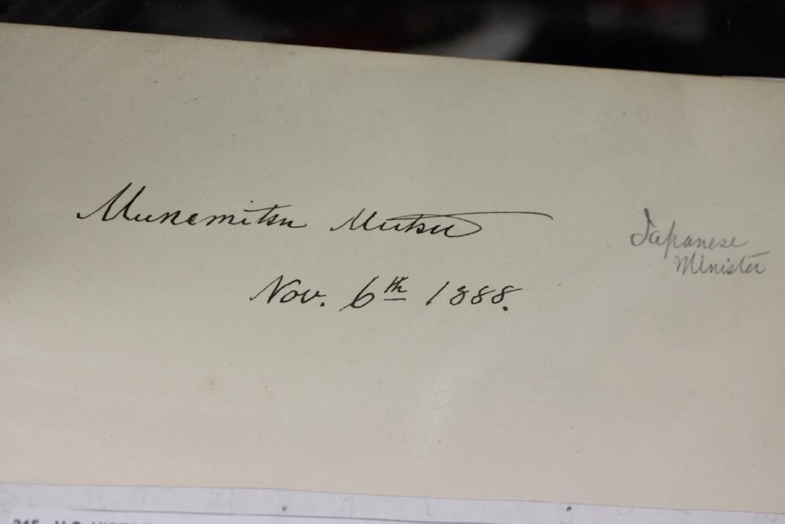 U.S.Historical Autograph Page-Cut