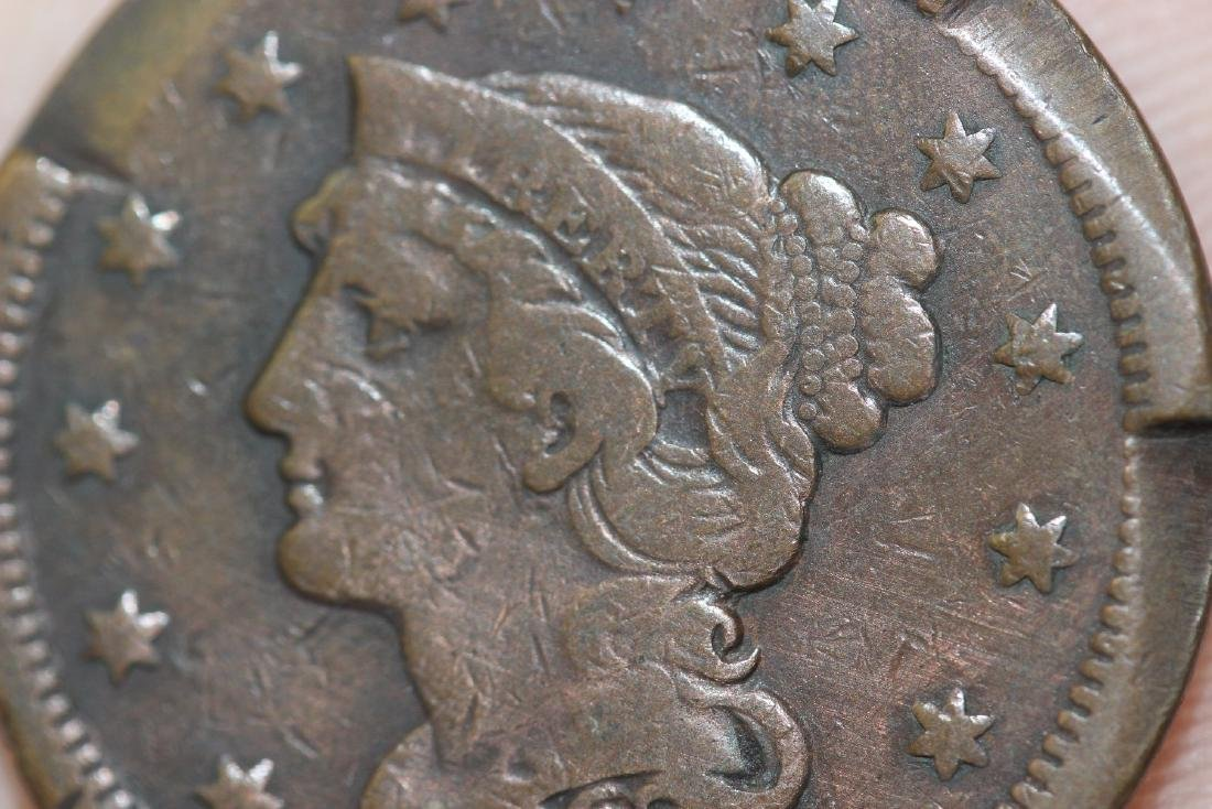 An 1846 Large Cent - 3