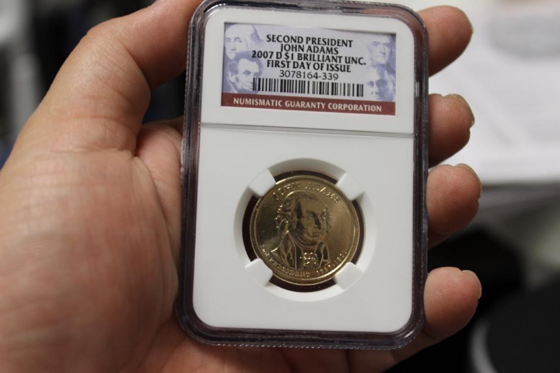An NGC Graded Dollar