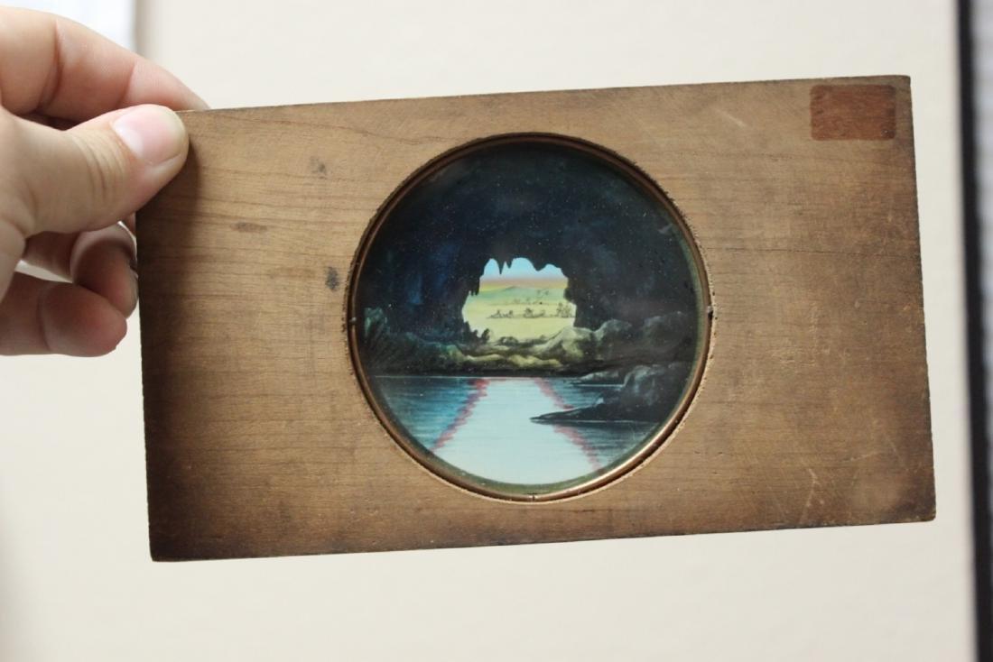 A Vintage Wooden Slide