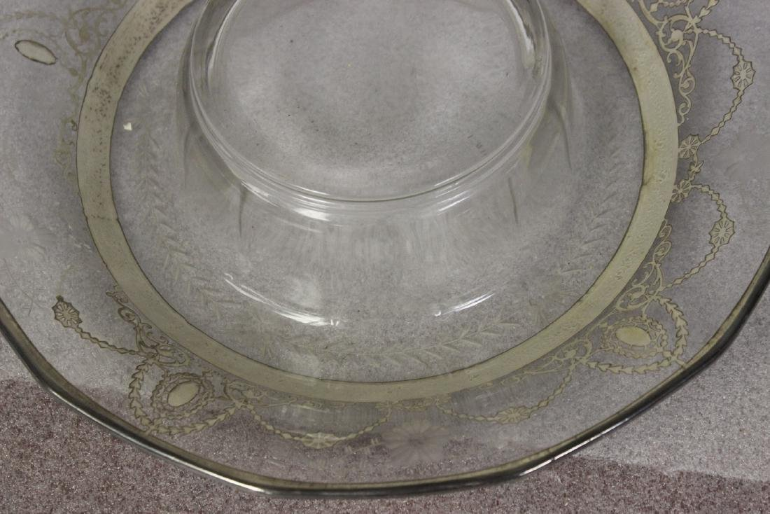 Sterling Silver Overlay Bowl? - 2
