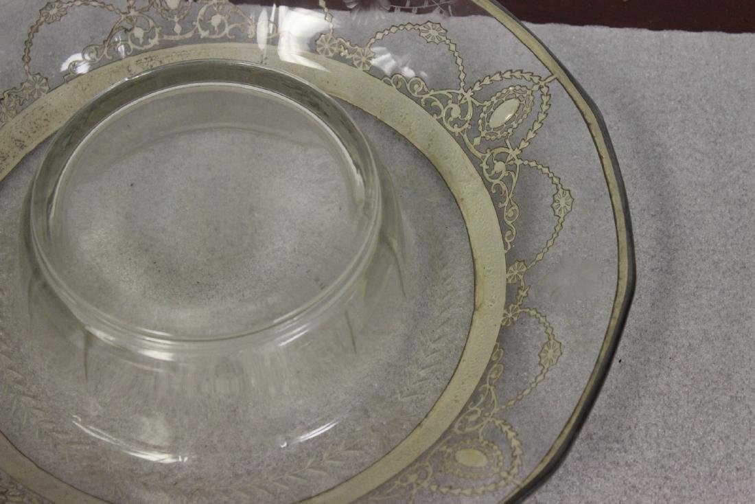 Sterling Silver Overlay Bowl? - 4