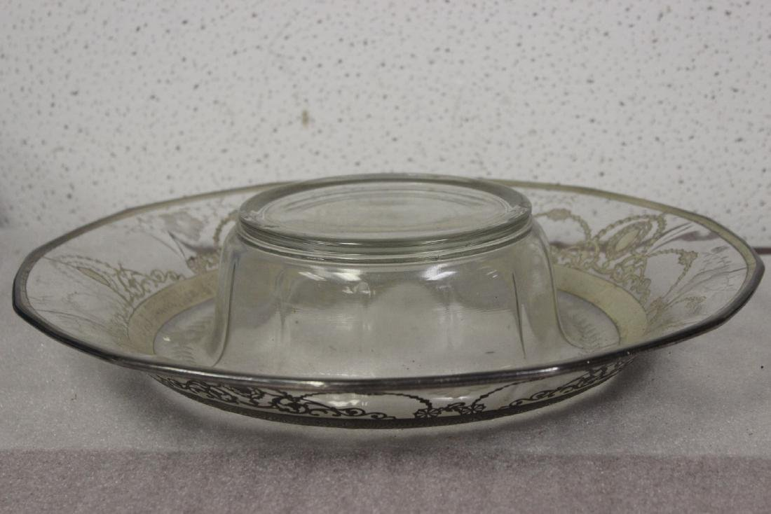 Sterling Silver Overlay Bowl? - 5