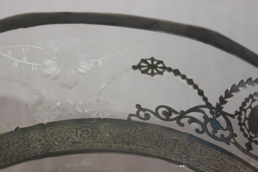 Sterling Silver Overlay Bowl? - 7