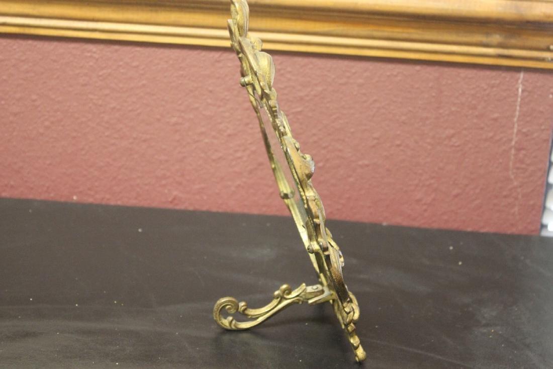A Cast Iron Gold Frame - 4