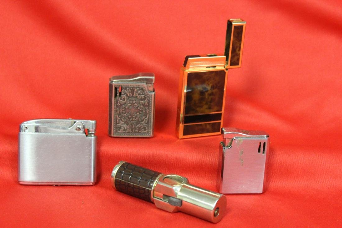 Lot of 5 Lighters