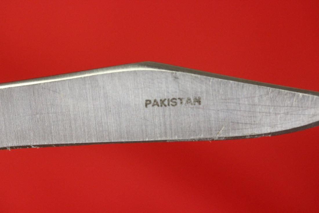 A Red Deer Burnt Bone Handle Knife - 3