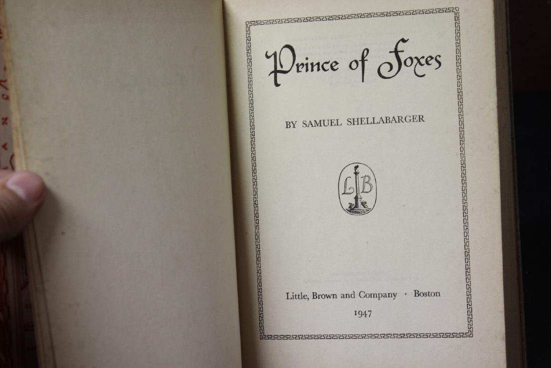 Hardcover Book - Prince of Foxes - 3