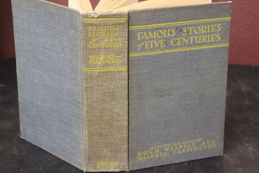 Hardcover Book - Famous Stories of Five Centuries