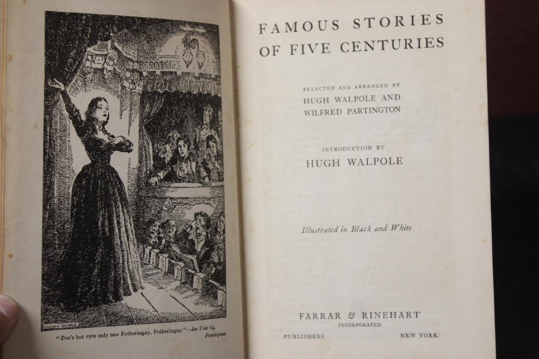Hardcover Book - Famous Stories of Five Centuries - 2