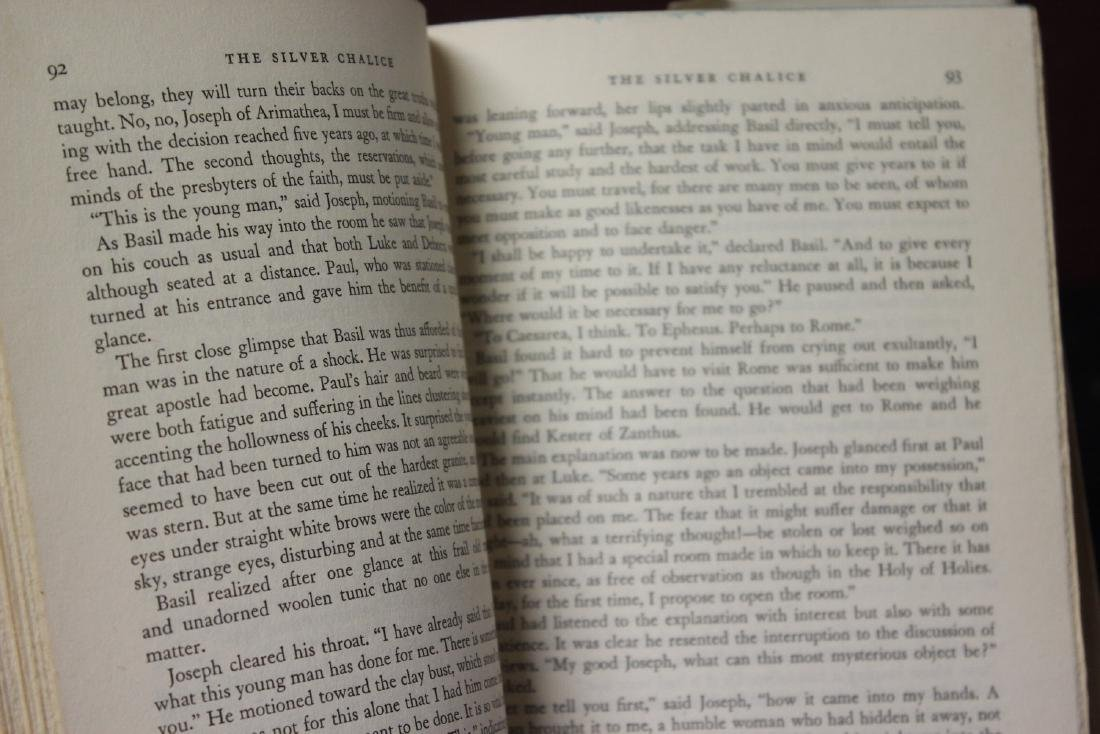 Hardcover Book - The Silver Chalice - 6