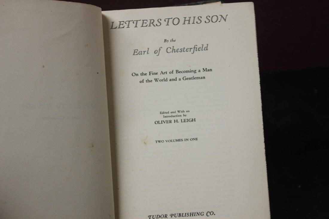 Hardcover Book - Lord Chesterfield's Letters to His Son - 2