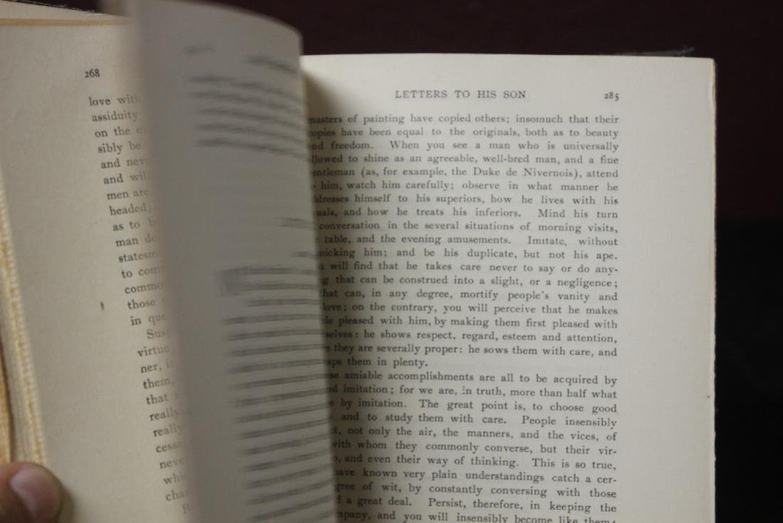 Hardcover Book - Lord Chesterfield's Letters to His Son - 4