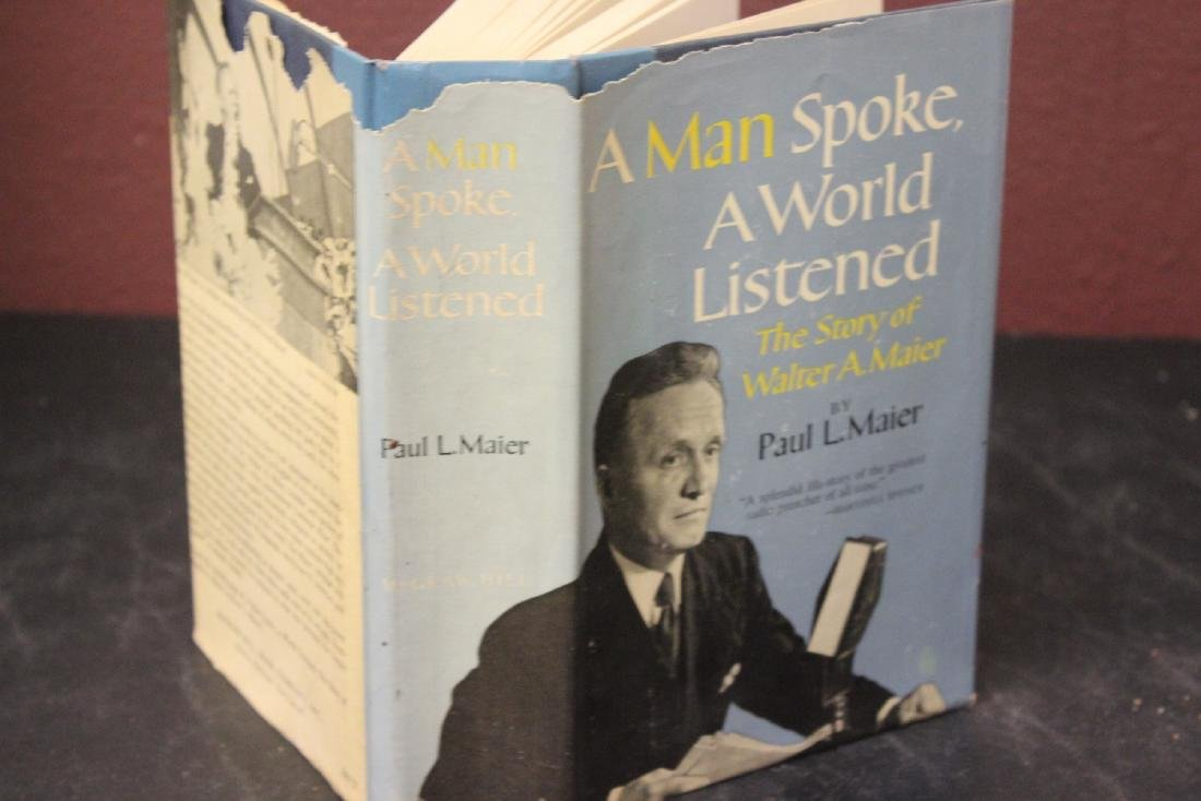 Hardcover Book - A Man Spoke, A Word Listened by Paul