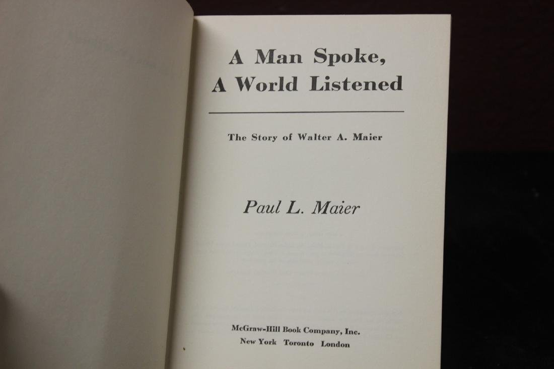 Hardcover Book - A Man Spoke, A Word Listened by Paul - 2