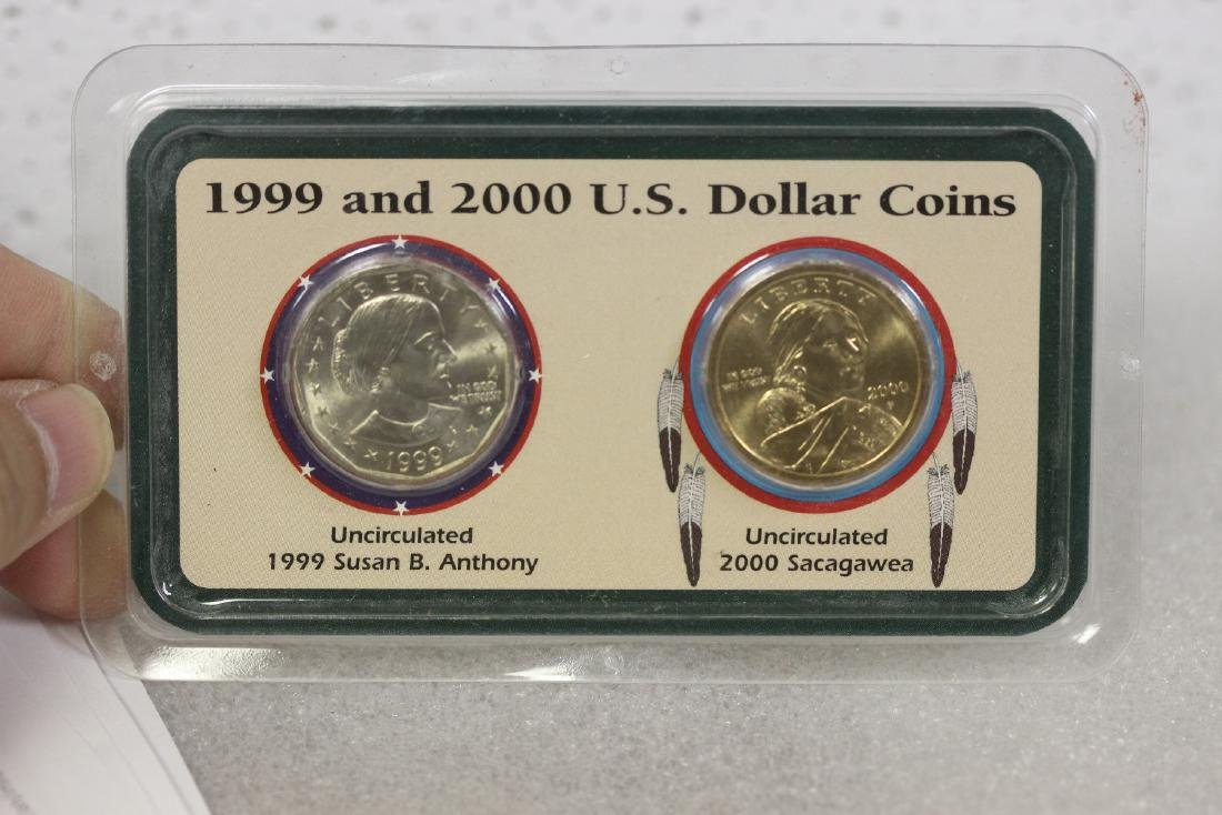 1999 and 2000 US Dollar Coins