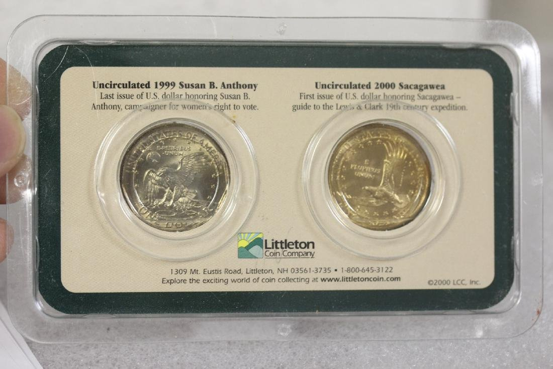 1999 and 2000 US Dollar Coins - 2