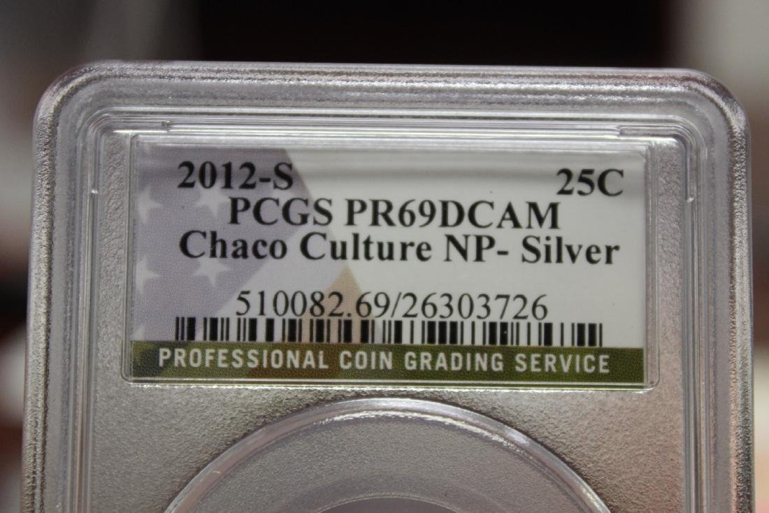 A Graded PCGS 2012-S PR69 DCAM Quarter - 4