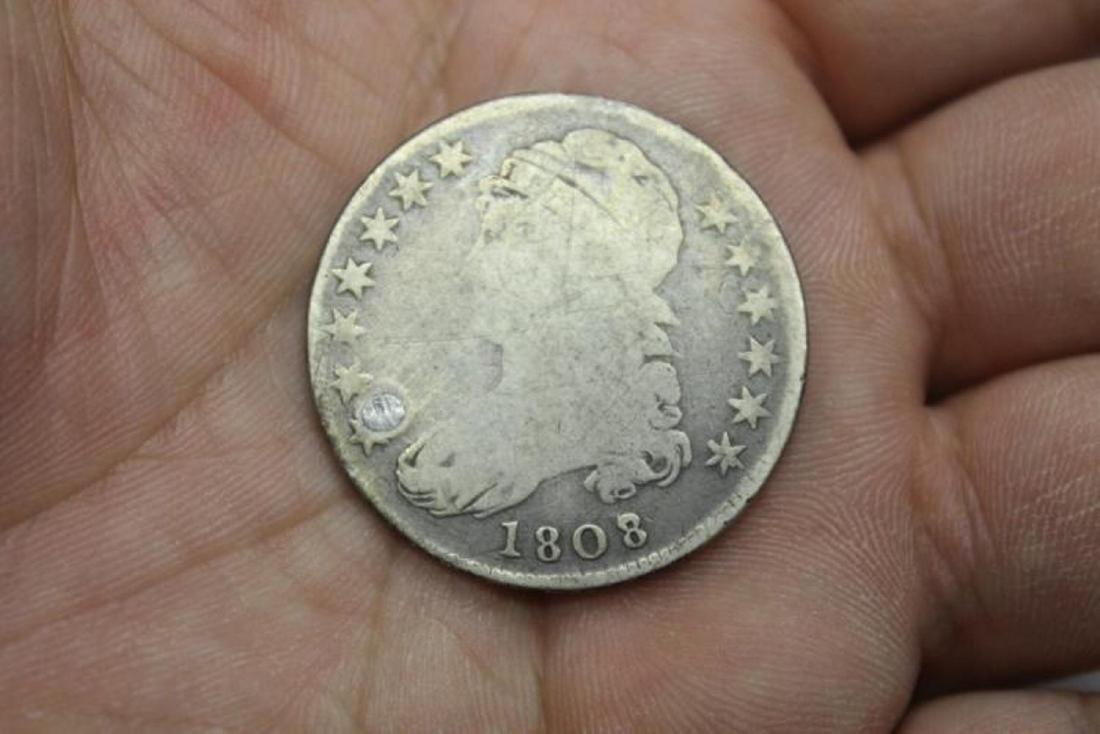 An 1808 Half Dollar