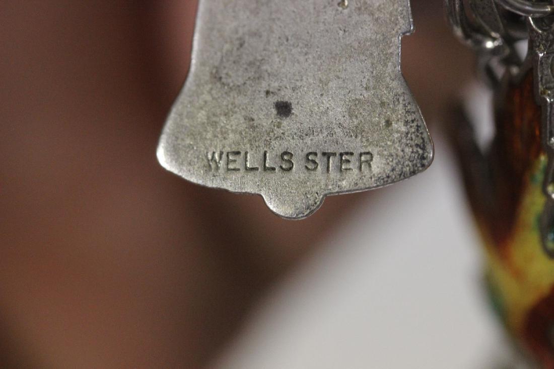 A Sterling Charm Bracelet - 3