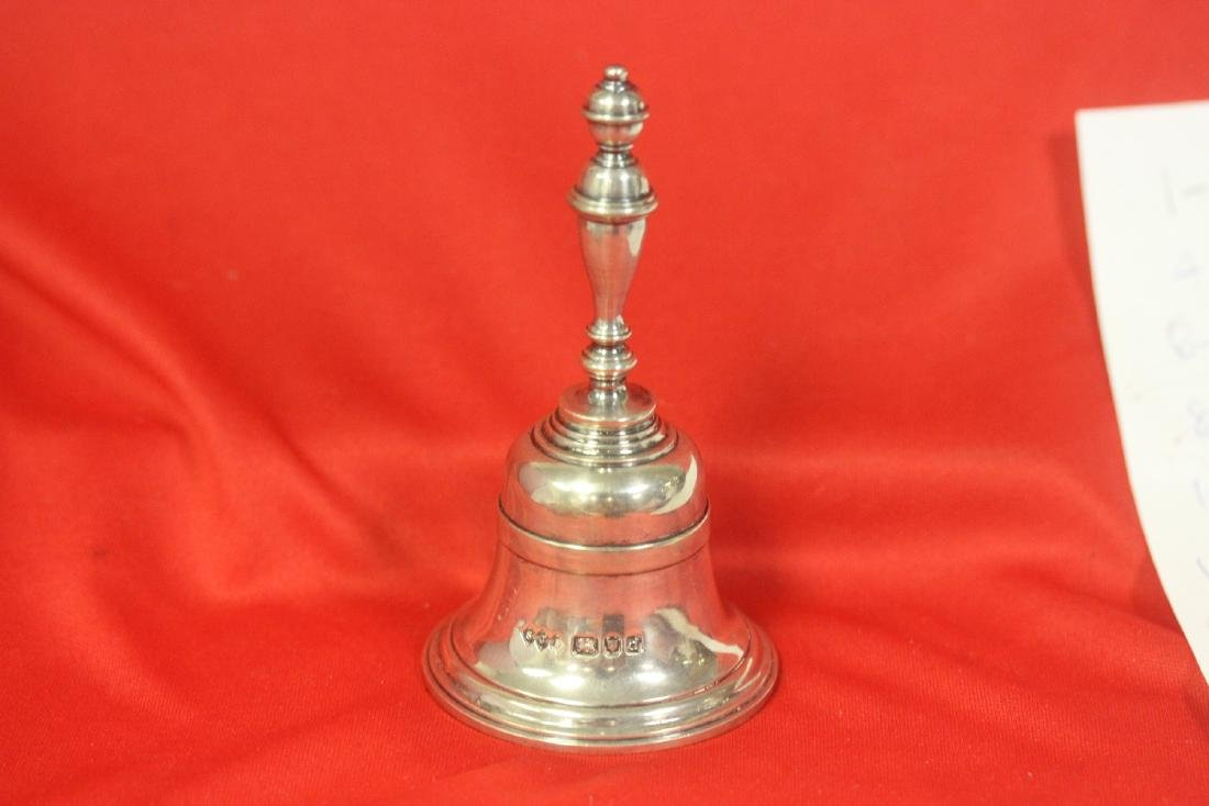 A Sterling Silver Bell