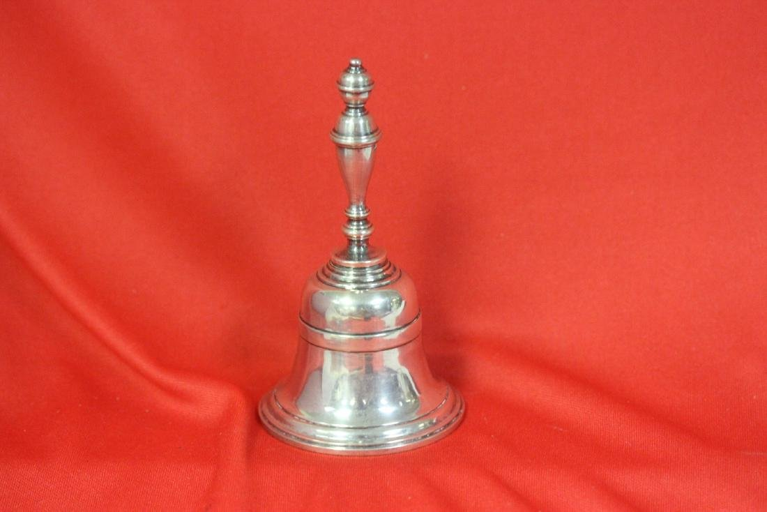 A Sterling Silver Bell - 6