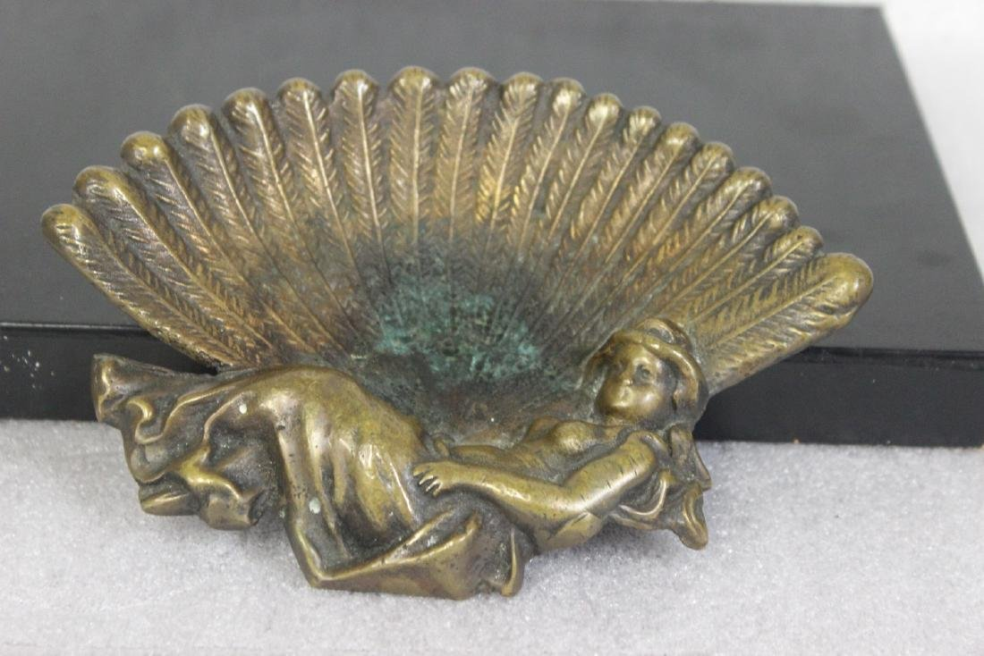 A Bronze or Brass Dish