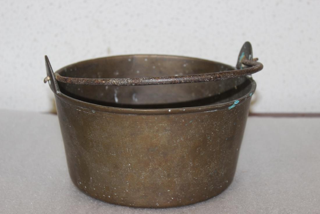 A Heavy Bronze or Brass Bucket