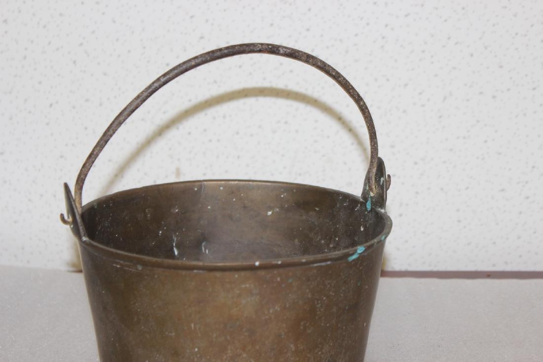 A Heavy Bronze or Brass Bucket - 2