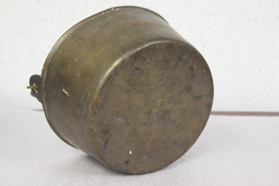 A Heavy Bronze or Brass Bucket - 3