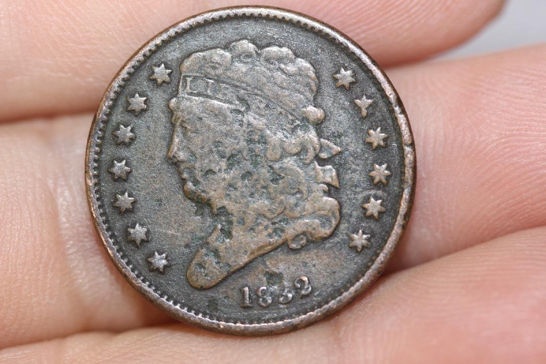 An 1832 Half Cent