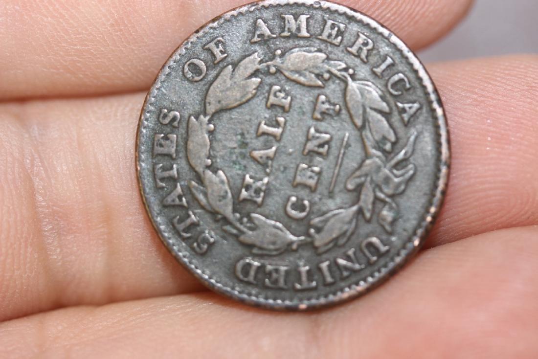 An 1832 Half Cent - 2