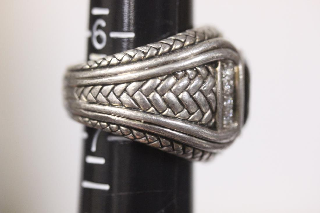 A Scott-Kay Sterling Silver Ring - 2