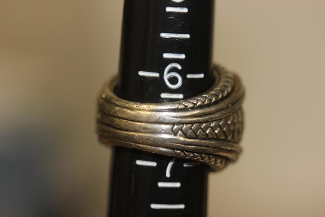 A Scott-Kay Sterling Silver Ring - 5