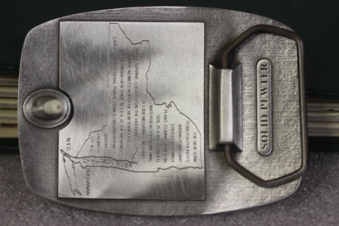 A Pewter Belt Buckle - 2
