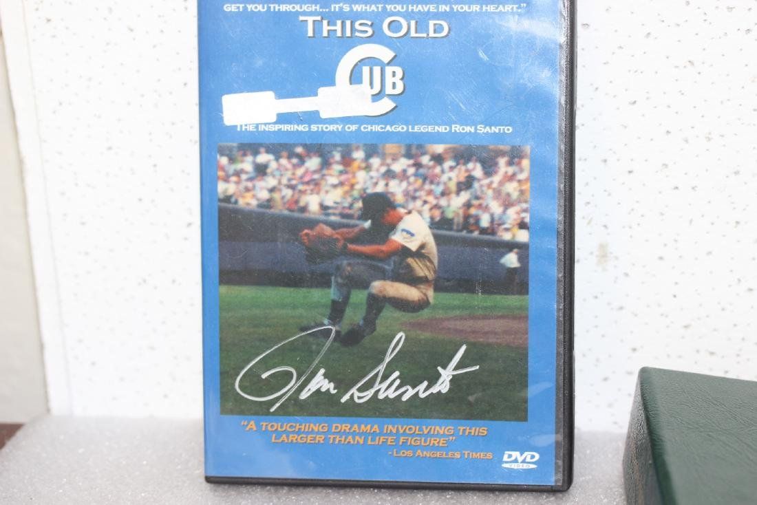 A Signed Ron Santo DVD
