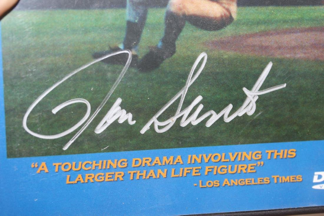 A Signed Ron Santo DVD - 2