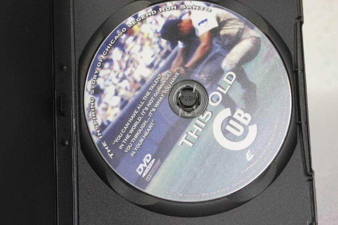 A Signed Ron Santo DVD - 3