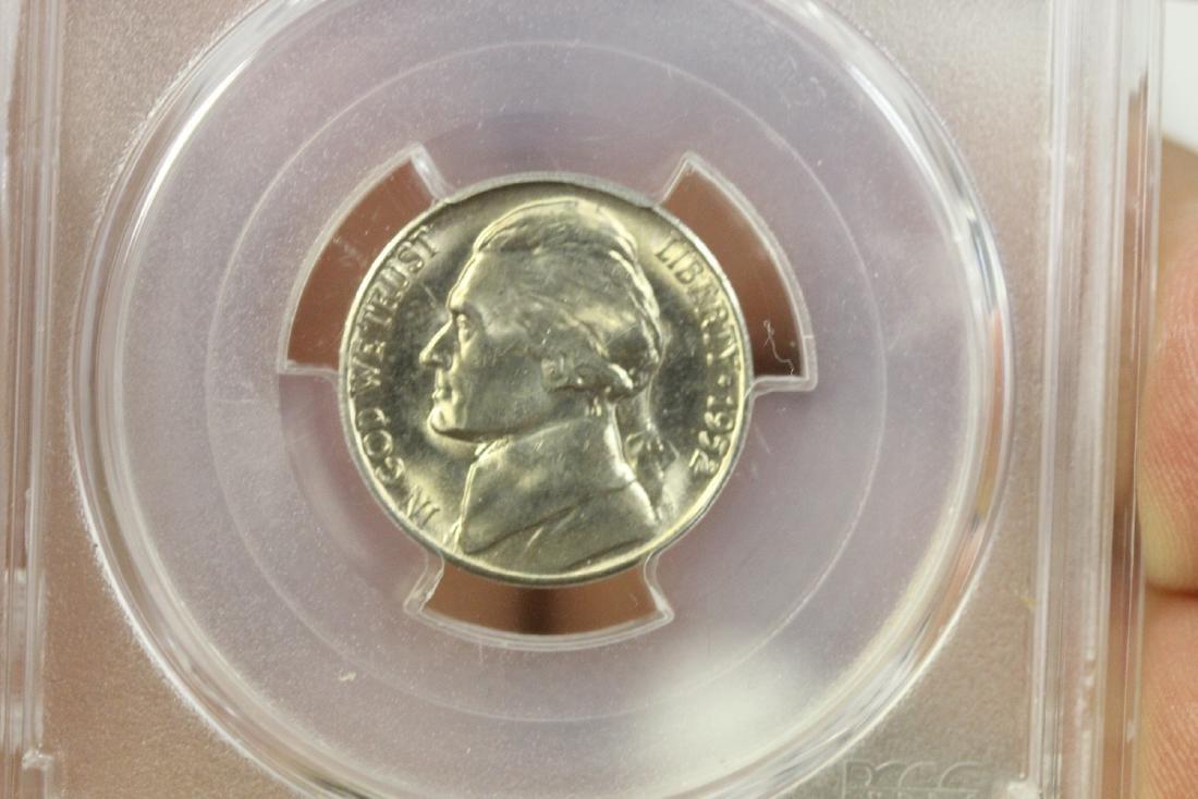 A Graded 1952-S Jefferson Nickel - 4