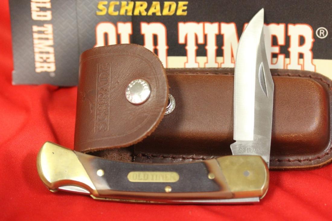 A Schrade Old Timer Knife - 3