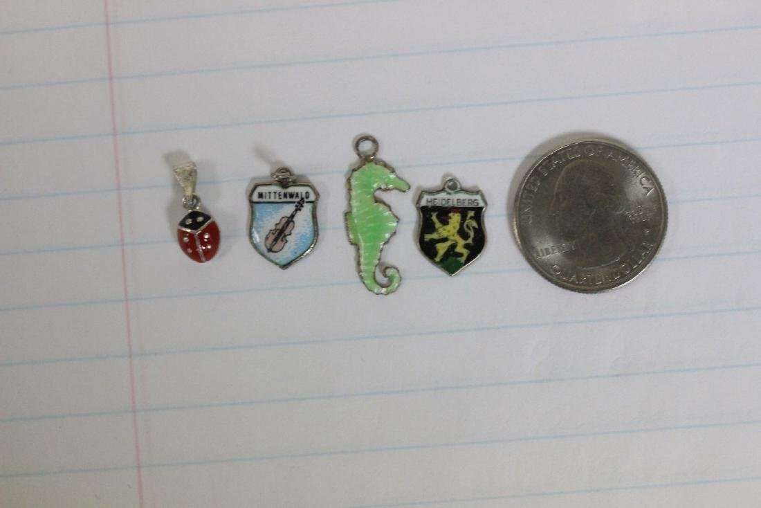 Lot of 4 Sterling and Silver Charms - 3
