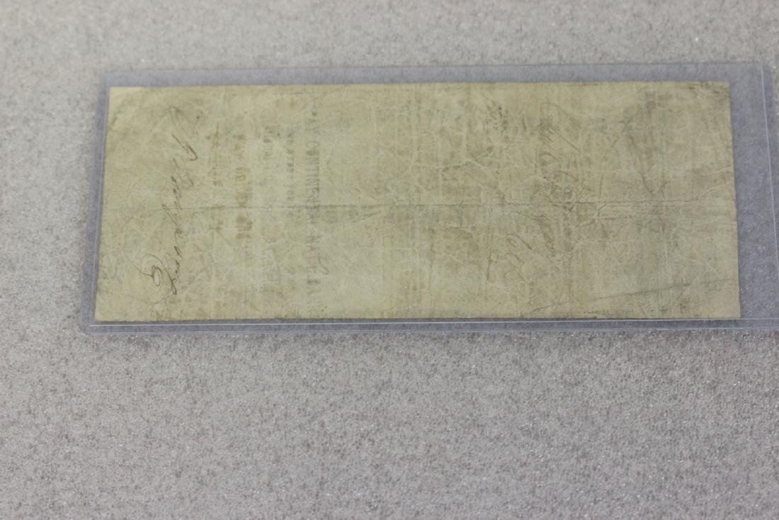 An 1860's Two Dollar Large Note - 5
