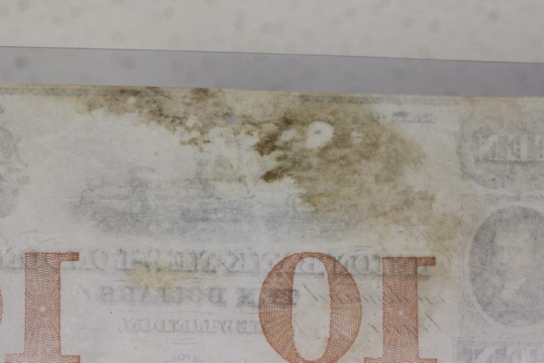 A Union Bank New London Ten Dollar Note - 10