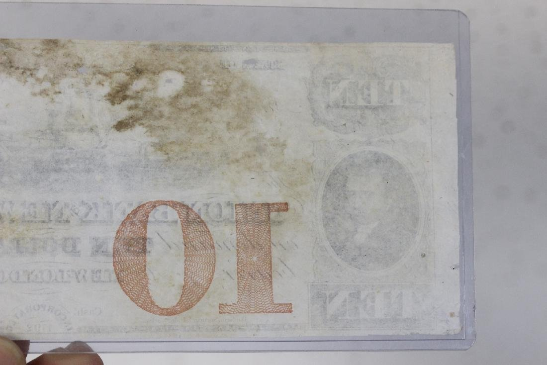 A Union Bank New London Ten Dollar Note - 9