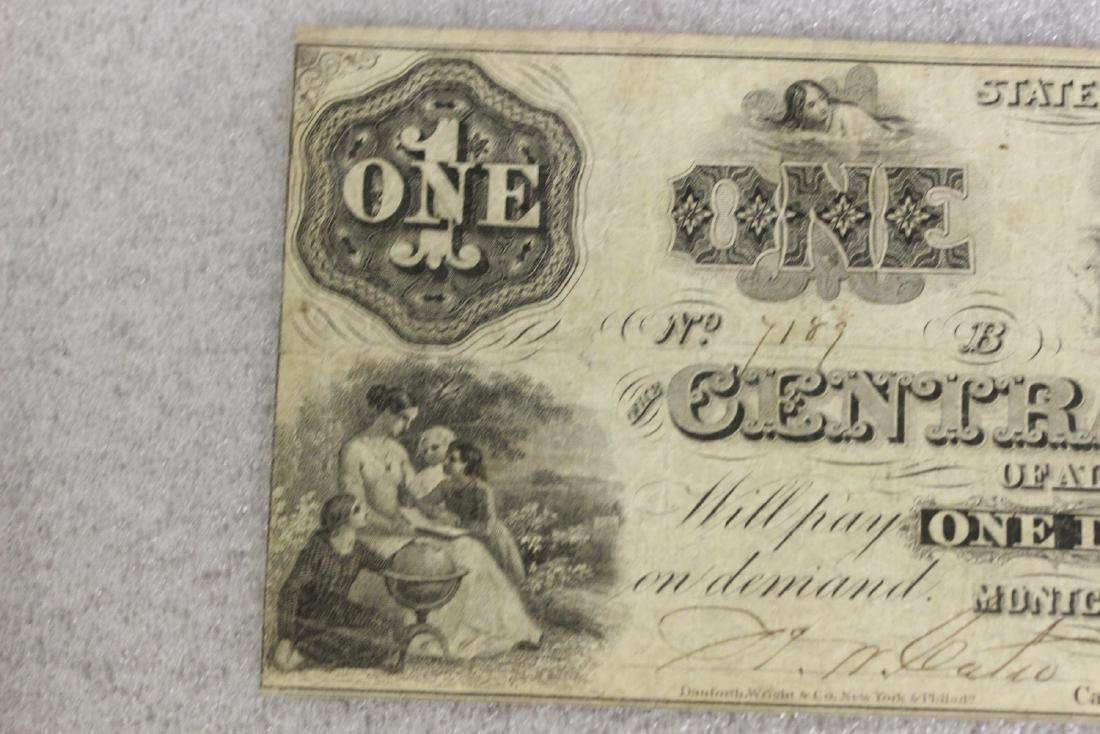 An 1861 One Dollar Note - 2