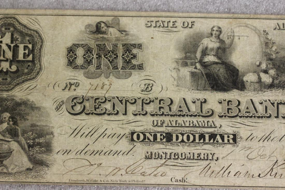 An 1861 One Dollar Note - 3