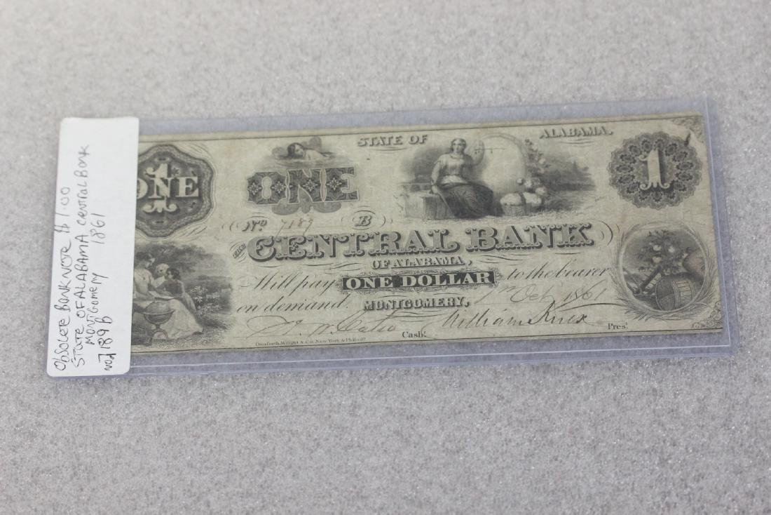 An 1861 One Dollar Note - 7